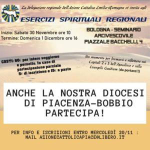 Esercizi Spirituali Regionali Adulti 2019 @ Seminario Arcivescovile
