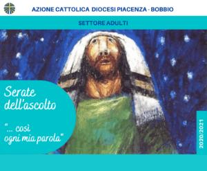 """""""Così ogni mia parola..."""" Le Serate dell'Ascolto #1 @ Parrocchia S.Giuseppe Operaio"""